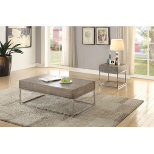 17 Stories Criswell 2 Piece Coffee Table Set