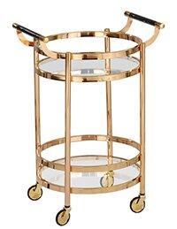 Design Guild Rolling Bar Cart