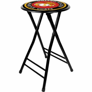 United States Marine Corps 24 Bar Stool by Trademark Global