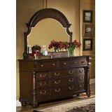 Mikkelsen 12 Drawer Dresser with Mirror by Astoria Grand
