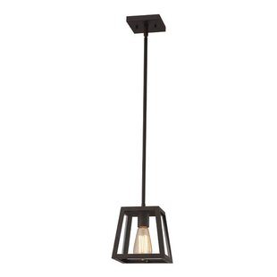 Williston Forge Allena 1-Light Lantern Pendant