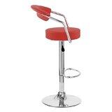 Ortrun Adjustable Height Swivel Bar Stool (Set of 2) by Orren Ellis
