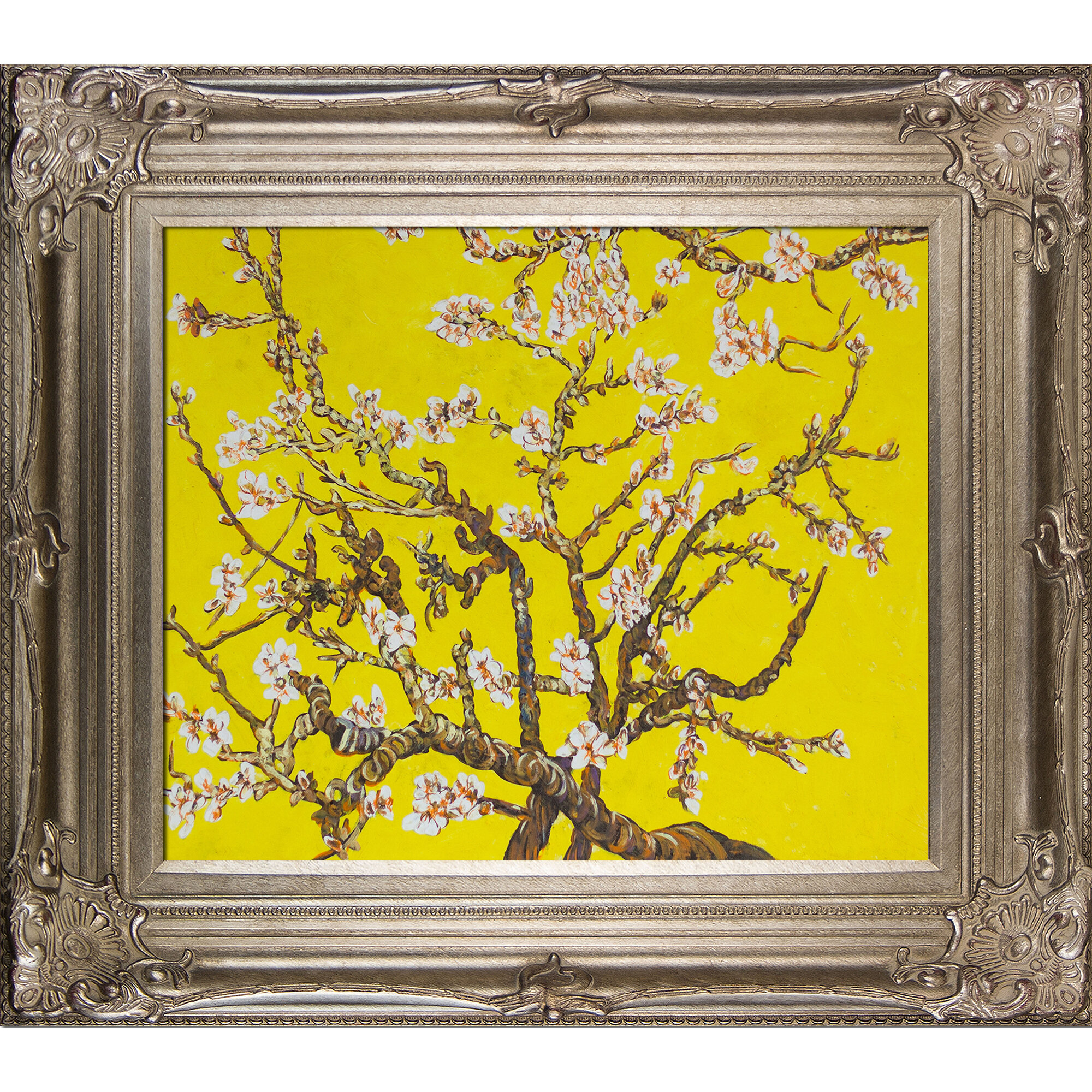 Tori Home Branches Of An Almond Tree In Blossom by Vincent Van Gogh ...