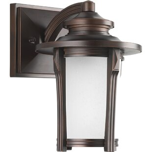 Alcott Hill Triplehorn 1-Light Efficient Wall Lantern