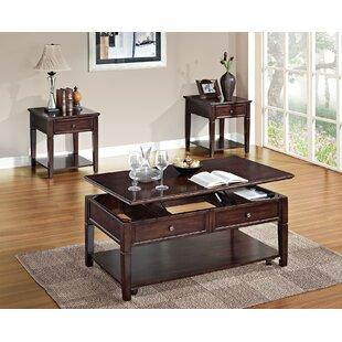 A&J Homes Studio Malachi 2 Piece Coffee Table Set