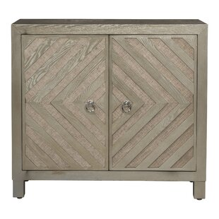 Eilene Wooden 2 Door Accent Cabinet by Wrought Studio