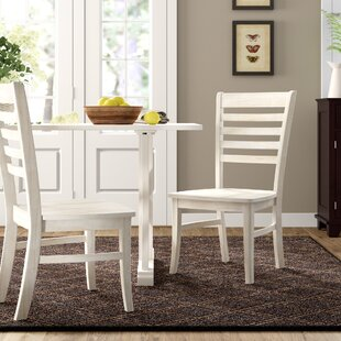Elwes Solid Wood Dining Chair (Set of 2) ..