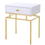 Featherston End Table by Everly Quinn