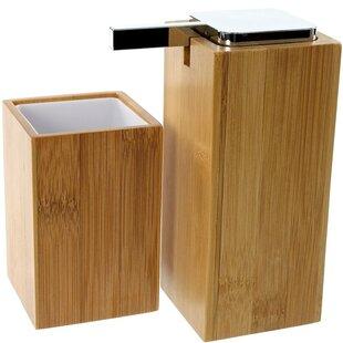 Gedy by Nameeks Potus 2-Piece Bathroom Accessory Set