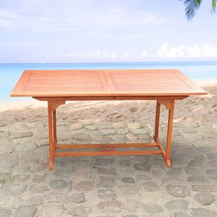 Wood Dining Table by Home & Haus