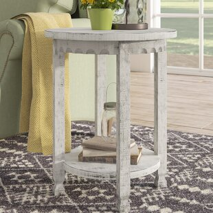 Mangum Heights Round End Table by Laurel Foundry Modern Farmhouse
