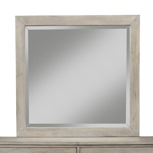 Aguirre Cottage/Country Beveled Dresser Mirror