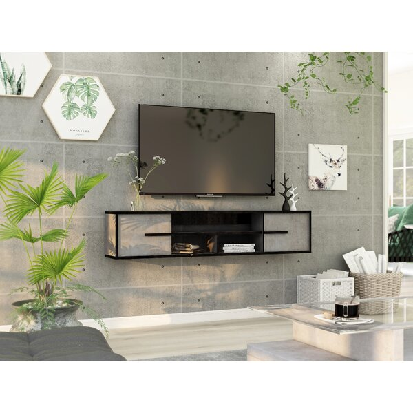 Latitude Run Floating Tv Stand For Tvs Up To 55 Reviews Wayfair
