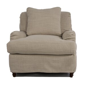 Seacoast T-Cushion Armchair Slipcover by Sunset Trading