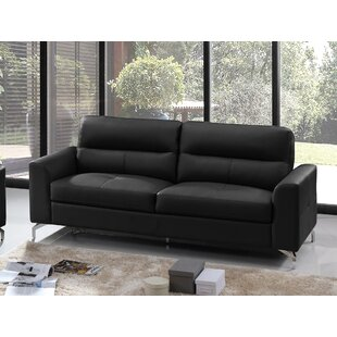 Ligia Tristan Leather Configurable Living Room Set By Orren Ellis