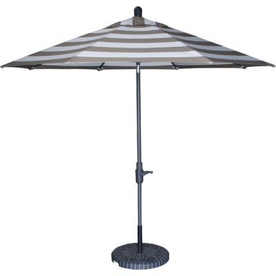 Tilt 9 Market Sunbrella Umbrella