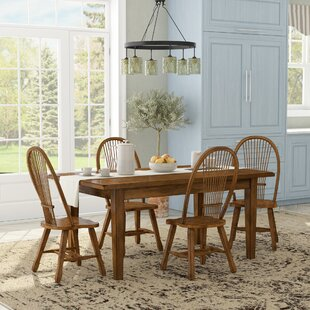 Industry 5 Piece Dining Set Greyleigh