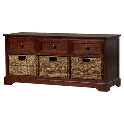 Beachcrest Home McKinley Storage Bench U0026 Reviews | Wayfair