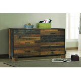 Cho 6 Drawer Double Dresser by Foundry Select