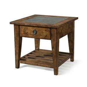 Peatman End Table by August Grove