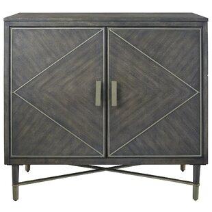 Nicolao 2 Door Accent Cabinet by Wrought Studio