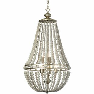 Radionic Hi Tech Laura 6-Light Empire Chandelier