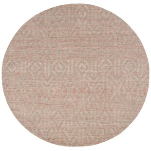 Francisco Rust Area Rug by Bungalow Rose