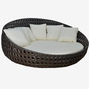Round Patio Daybed With Sunbrella Cushions By Feruci