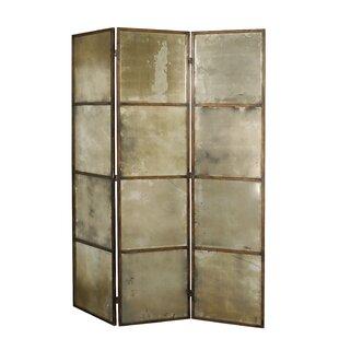80 X 63 Avidan Mirrored 3 Panel Room Divider By Uttermost Best Buy