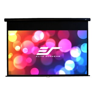 Yard Master Series White Manual Projection Screen