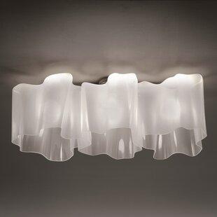 Artemide Logico 1-Light Semi Flush Mount
