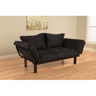 Everett Convertible Lounger Futon and Mattress