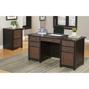 Latitude Run Powell 2 Piece Desk Office Suite