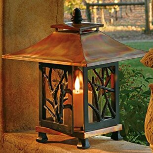Pantheon Table Stainless Steel Lantern by H. Potter