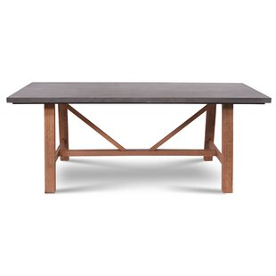 Mcginnis Stone/Concrete Dining Table by Gracie Oaks