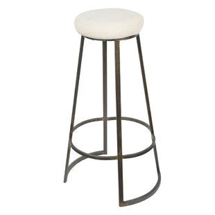 Villard Metal Framed Backless Bar Stool Gracie Oaks