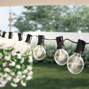 Bal Harbour 50-Light 50 ft. Globe String Lights