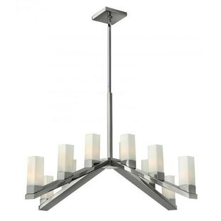 Orren Ellis Auyeung 12-Light Chandelier