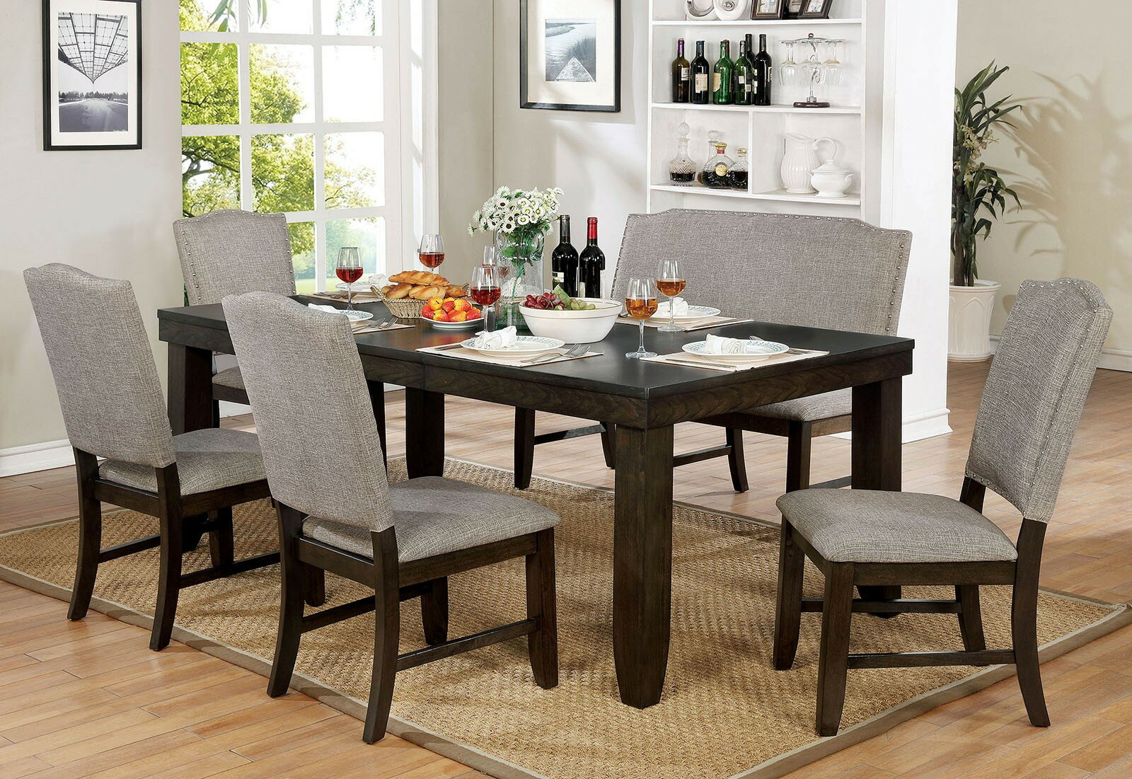 Gracie Oaks Twanna 6 Piece Drop Leaf Dining Set