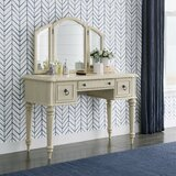 Fredricks Vanity with Mirror by One Allium Way®