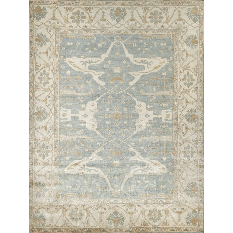 Exquisite Rugs Oushak Oriental Hand Knotted Wool Cotton Ivory Area Rug Reviews Wayfair