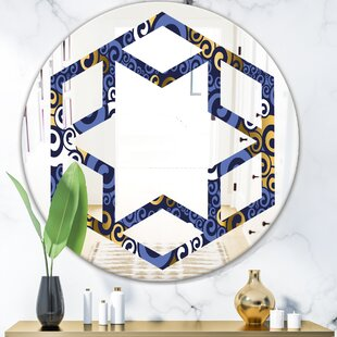 Buy 24 Led Mirror Round Wall Mount Lighted Mirror Makeup Vanity Mirror With Touch Button To Old Bathroom On Sales