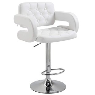 Boville Swivel Adjustable Bar Stool By Metro Lane