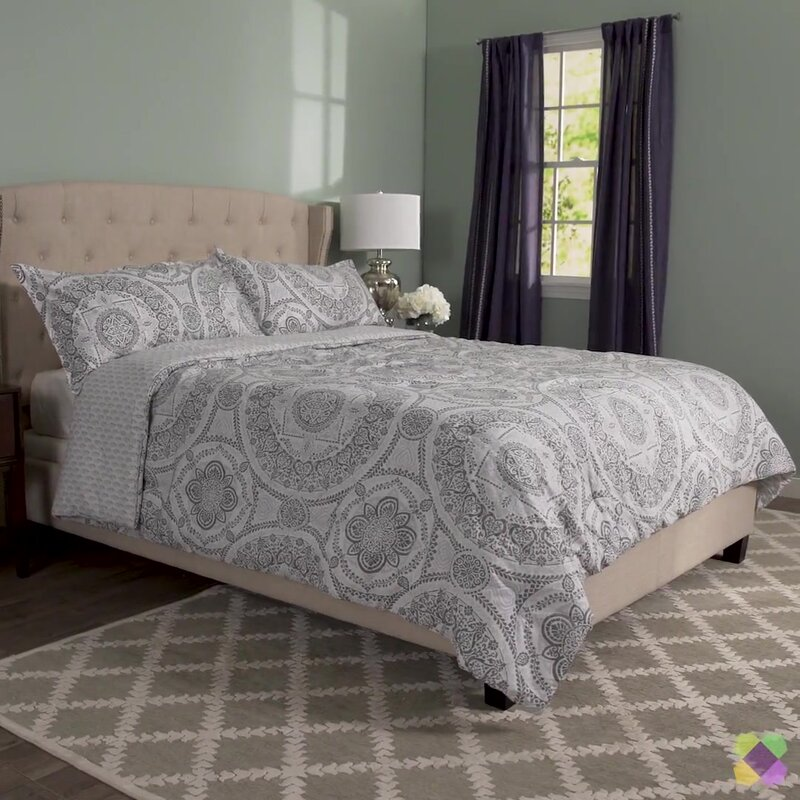 sets reversible black blues grey white queen gold blue set piece comforter splendid p bedding
