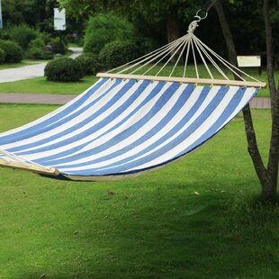 Hanging Suspended Double Tree Hammock with Stand by Adeco Trading