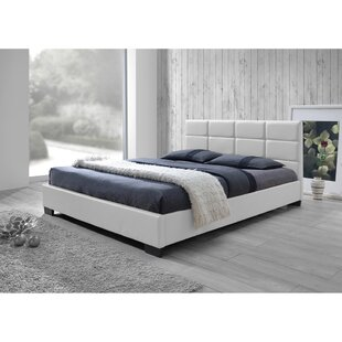 Helmick Upholstered Platform Bed By Mercury Row