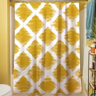 Diamonds Shower Curtain by Manual Woodworkers & Weavers