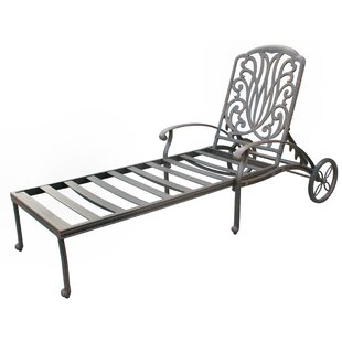 Lebanon Chaise Lounge Frame by Three Posts