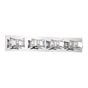 Orren Ellis Skodak 4-Light Bath Bar