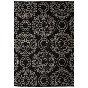 Bargain Fonzo Black Area Rug By One Allium Way